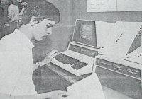 John programming a Stepper Motor in 1980