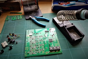 Circuit board construction